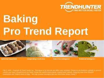 Baking Trend Report and Baking Market Research
