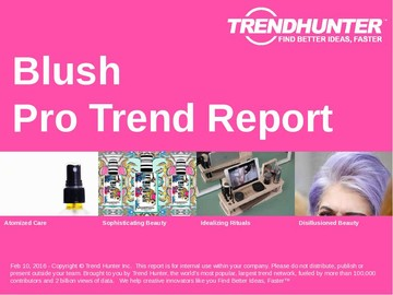 Blush Trend Report and Blush Market Research