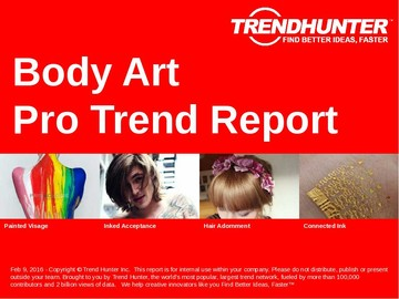 Body Art Trend Report and Body Art Market Research