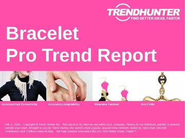 Bracelet Trend Report and Bracelet Market Research