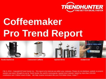 Coffeemaker Trend Report and Coffeemaker Market Research