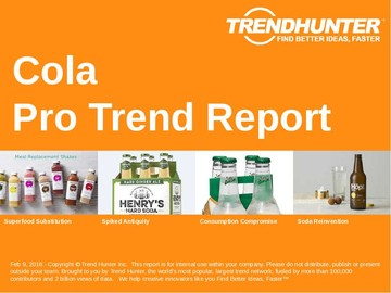 Cola Trend Report and Cola Market Research