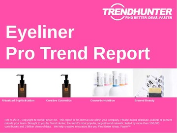 Eyeliner Trend Report and Eyeliner Market Research