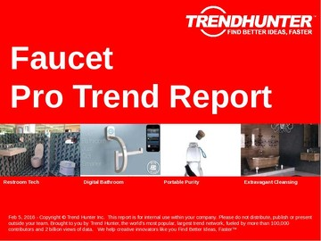 Faucet Trend Report and Faucet Market Research