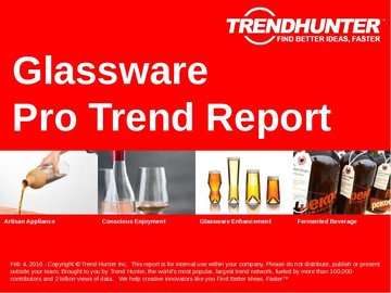Glassware Trend Report and Glassware Market Research