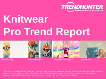 Knitwear Trend Report and Knitwear Market Research
