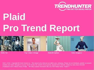 Plaid Trend Report and Plaid Market Research