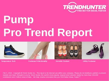 Pump Trend Report and Pump Market Research