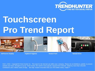 Touchscreen Trend Report and Touchscreen Market Research