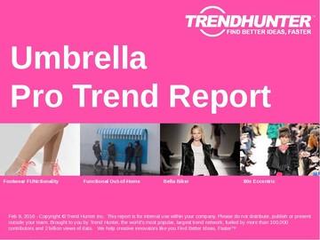 Umbrella Trend Report and Umbrella Market Research