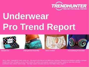 Underwear Trend Report and Underwear Market Research