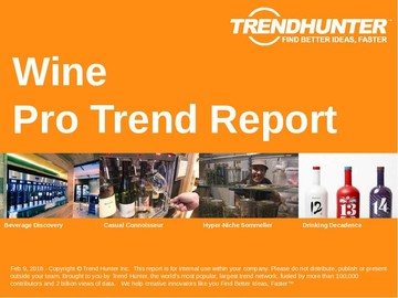 Wine Trend Report and Wine Market Research