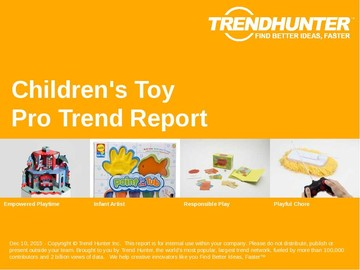 Children's Toy Trend Report and Children's Toy Market Research