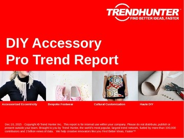 DIY Accessory Trend Report and DIY Accessory Market Research