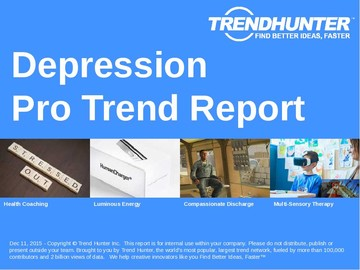 Depression Trend Report and Depression Market Research