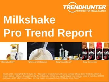 Milkshake Trend Report and Milkshake Market Research
