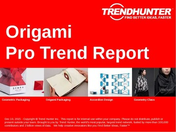 Origami Trend Report and Origami Market Research