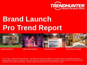 Brand Launch Trend Report and Brand Launch Market Research