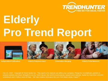Elderly Trend Report and Elderly Market Research