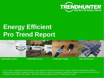 Energy Efficient Trend Report and Energy Efficient Market Research