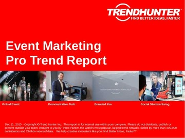 Event Marketing Trend Report and Event Marketing Market Research