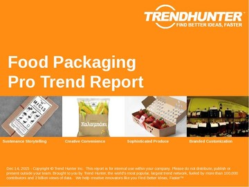 Food Packaging Trend Report and Food Packaging Market Research