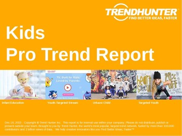 Kids Trend Report and Kids Market Research