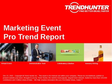 Marketing Event Trend Report and Marketing Event Market Research