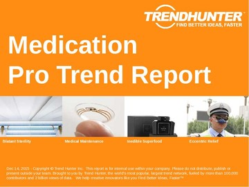 Medication Trend Report and Medication Market Research