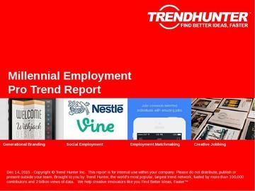Millennial Employment Trend Report and Millennial Employment Market Research