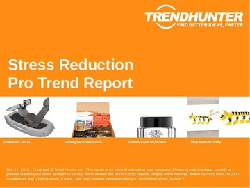 Stress Reduction Trend Report and Stress Reduction Market Research
