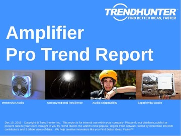 Amplifier Trend Report and Amplifier Market Research