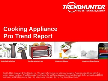 Cooking Appliance Trend Report and Cooking Appliance Market Research