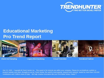 Educational Marketing Trend Report and Educational Marketing Market Research