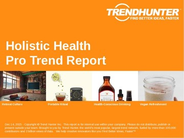Holistic Health Trend Report and Holistic Health Market Research