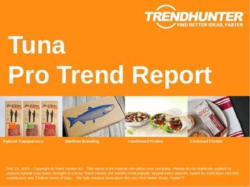 Tuna Trend Report and Tuna Market Research