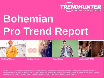 Bohemian Trend Report and Bohemian Market Research