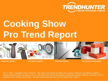 Cooking Show Trend Report and Cooking Show Market Research