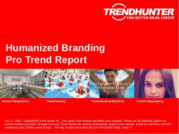 Humanized Branding Trend Report and Humanized Branding Market Research