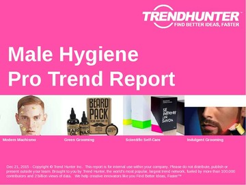 Male Hygiene Trend Report and Male Hygiene Market Research