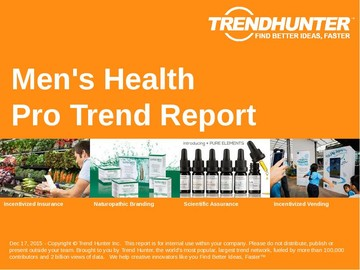 Men's Health Trend Report and Men's Health Market Research
