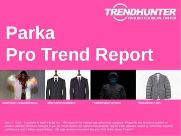 Parka Trend Report and Parka Market Research