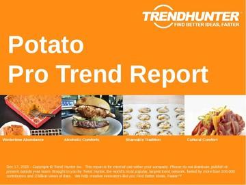 Potato Trend Report and Potato Market Research