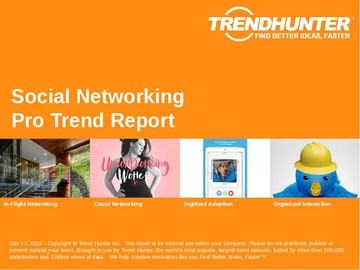 Social Networking Trend Report and Social Networking Market Research