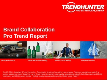 Brand Collaboration Trend Report and Brand Collaboration Market Research