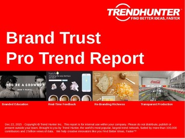 Brand Trust Trend Report and Brand Trust Market Research