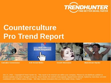 Counterculture Trend Report and Counterculture Market Research