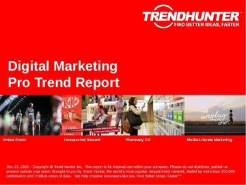 Digital Marketing Trend Report and Digital Marketing Market Research