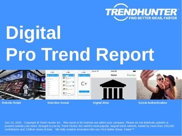 Digital Trend Report and Digital Market Research
