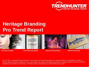 Heritage Branding Trend Report and Heritage Branding Market Research